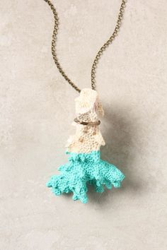 Dipped Sessile Necklace - Anthropologie.