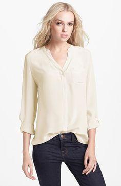 Trouvé Silk Blouse | Nordstrom