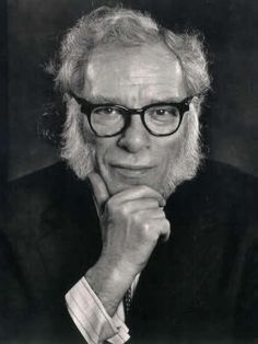 Isaac Asimov (January 1920 – April was an American author and professor of biochemistry at Boston University, best known for his works of science fiction and for his popular science books. Asimov was one of the most prolific writers of all tim Hard Science Fiction, Science Fiction Authors, Science Books, Fiction Books, Isaac Asimov, Writers And Poets, American Shorts, Story Writer, People Of Interest