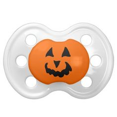 Pumpkin Baby Pacifiers - a new product on Zazzle! I couldn't resist - I had to add another Friday Find. Pacifiers are new product on Zazzle. Isn't this cute pumpkin a face to love! Baby First Halloween, Baby Halloween Costumes, Halloween Gifts, Baby In Pumpkin, Cute Pumpkin, Happy Pumpkin Faces, Baby Dust, Getting Pregnant, New Product