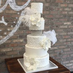 You can have Silver Sparkle Wedding Cake for your wedding from A Little Cake as we provide different flavors wedding cakes at Woodcliff and nearby area of New Jersey. #wedding #fondant #buttercream #cake #alittlecake #weddingcake #woodcliff