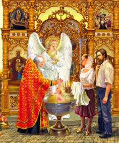 Angel – Art in Faith Christian Baptism, Christian Art, Faith Of Our Fathers, Faith In God, Religious Images, Religious Art, Russian Mythology, Childrens Prayer, Beast Wallpaper