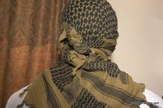 Shemagh....and how to tie one.