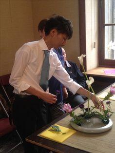 The Headmaster Hiroki in Brussels