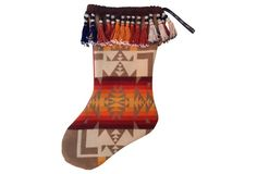 Indian Blanket    Christmas Stocking