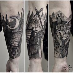 tattoo by Lukas Zglenicki, Poland.