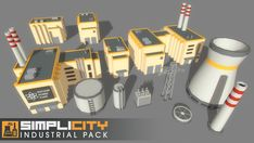 SimpliCity Industrial Pack - Asset Store