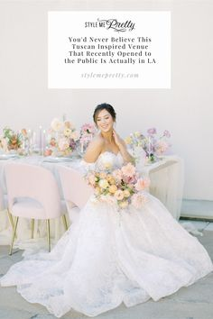 You'd never believe this Tuscan inspired venue (that recently opened to the public) is actually in LA! If you're dreaming of a European destination but want to host closer to home, this may be the ideal location to share your vows. 😍 LBB Photographer: @etherandsmith #stylemepretty #losangeleswedding #californiaweddingvenue #tuscanywedding #weddinginspo Dream Wedding Dresses, Wedding Gowns, California Wedding Venues, Wedding Events, Wedding Receptions, Weddings, Elegant, Bridal Gowns, Style Me