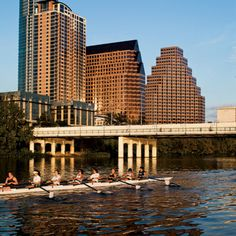 Lady Bird Lake in Austin was named one of the South's Greatest Lakes by Southern Living! As a reflection to this music-loving town, Lady Bird boasts its own venue at Auditorium Shores, a wide riverbank slope that hosts concerts.