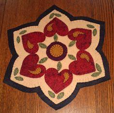 Valentine Penny rug