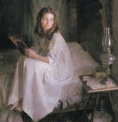 Missing You by figurative artist Morgan Weistling available from Snow Goose Gallery Reading Art, Woman Reading, L'art Du Portrait, Portraits, Morgan Weistling, Aesthetic Art, Beautiful Paintings, Oeuvre D'art, Figurative Art
