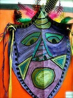Wonderful assortment of 1st grade African masks