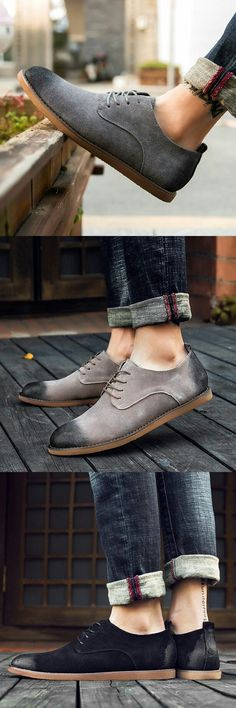 New High Quality Suede Wingtip Shoes Men Casual Shoes Italian Shoes Man Flats Shoes Lace-Up Cowboy Derby Oxford Moccasins