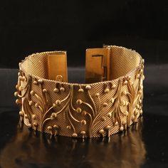 Christian Dior Vintage Gold Plated Bracelet 1960s