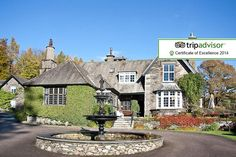 5* Lake District, 4-Course Dinner, Breakfast in Bed & Spa Access for 2