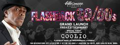 Grand Launch of Flashback 90/00s with COOLIO