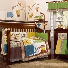 Lots of Ideas...A Jungle theme nursery is an adorable baby room idea for a boy or girl. A jungle nursery can be bold and vibrant or neutral and subdued. With...