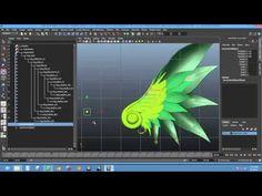 Rigging - Basic Wings Rig (Autodesk Maya) - YouTube