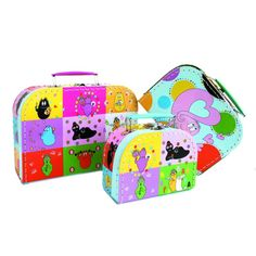 Lovely luggage idea for kids!