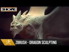 Zbrush Sculpting Tutorial - Dragon Design and Sculpting Techniques HD - YouTube