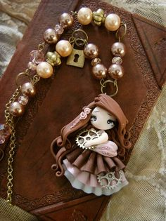 Steamdoll, polymer clay, porcelana fria, masa flexible, biscuit, pasta francesa, cold porcelain