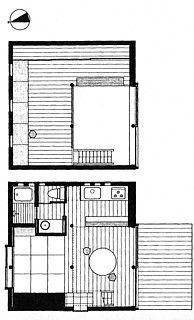 10──《スミレアオイハウス》平面図 出典=『九坪の家』