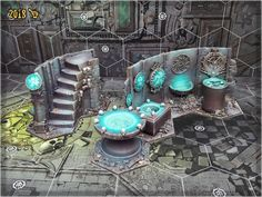 This set of Warhammer Underworlds: Shadespire scenery is a result of my sudden fascination with the game. Dungeon Tiles, Warhammer Terrain, Warhammer Aos, Dark Eldar, Game Terrain, 40k Terrain, Wargaming Terrain, Fantasy Miniatures, Mini Paintings