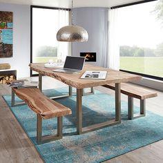 Fantastisch Ihr Möchtet Euren Tisch Zum Hingucker Machen? Dann Kombiniert Moderne Mit  Rustikalem. Bei Diesem
