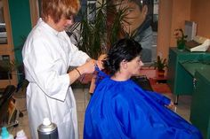 Salons, Overalls, Hair Cuts, Capes, People, Photography, Lowboy, Haircuts, Cape Clothing