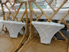 Palm Beach Faux Bamboo Wall Shelves