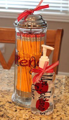 You've Been Framed: Back To School Teacher Gift