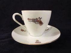 GERMANY PORCELAIN TEACUP Vintage cup Bareuther Bavaria