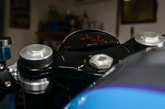 Minimalist: Das klassische Cockpit der R nineT musste beim Track Grinder einer...