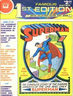 SUPERMAN FAMOUS WHITMAN 1st EDITION - LIMITED COLLECTOR'S... http://www.amazon.com/dp/B003YE5ELO/ref=cm_sw_r_pi_dp_mLMlxb0C4ENDN