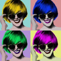 3f1548a61367 Очки как элемент поп-арта. Энди Уорхол оценил бы  )  очки,  glasses,   sungalsses,  popart,  эндиуорхол,  optix su. Интернет-магазин брендовых  очков и оправ ...