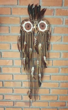 Dream Catchers, Owls, Arts And Crafts, Dreamcatchers, Dream Catcher, Owl, Wind Chimes, Art And Craft, Tawny Owl