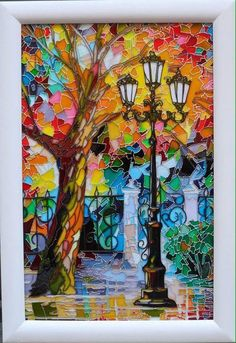 Painting - Quilling Deco Home Trends Glass Painting Patterns, Glass Painting Designs, Stained Glass Patterns, Paint Designs, Stained Glass Paint, Stained Glass Crafts, Stained Glass Panels, Mosaic Art, Mosaic Glass