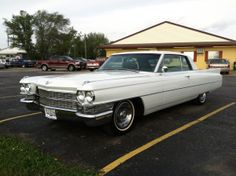 63' Cadillac. My step father had one just like this!