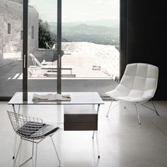 Jehs+Laub Lounge Chair is the perfect guest chair for a home office.