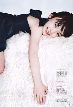 give a hug! ashida mana in vogue nippon.
