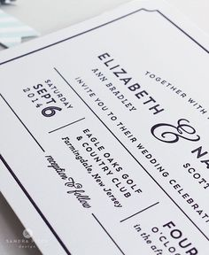 Modern, bold letterpress wedding Invitation also available in flat print - CAROLINE gray and white modern type Letterpress Wedding Invitations, Modern Wedding Invitations, Wedding Invitation Design, Wedding Stationary, Wedding Paper, Wedding Cards, Invitation Paper, Invitation Layout, Invite