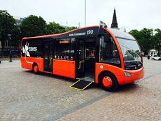 A Karlstad arrivano i #bus elettrici Optare Solo EV