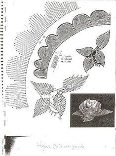 Bildergebnis für picados de flores de bolillos gratis