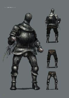 Dark Souls 3 Concept Art - Horace Concept Art