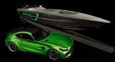 Cigarette Racing Boat Gets Mercedes-AMG GT R Inspired Design