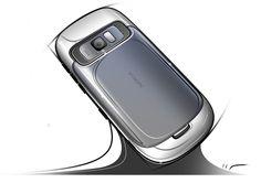 Nokia design story on Behance Sketch Inspiration, Design Inspiration, Industrial Design Sketch, Sketch Design, Pos Design, Cool Sketches, Transportation Design, Illustrations, Design Process