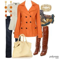 what to wear with orange jacket - Black Hair Media Forum