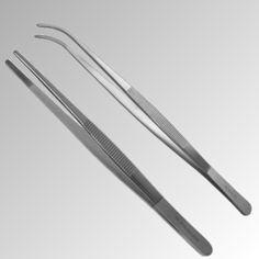 Pinzette-Anatomisch-Standard-14-60-cm-Griff-geriffelt-Edelstahl-Nr-P-29