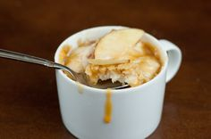 Caramel Apple Mug Cake