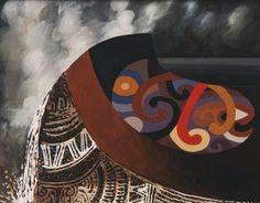 Huka Falls, Taupo Region by Buck Nin Fluorescent Paint, Banner Drawing, New Zealand Art, Nz Art, Maori Art, Australian Art, Online Gallery, Art Auction, Art Market